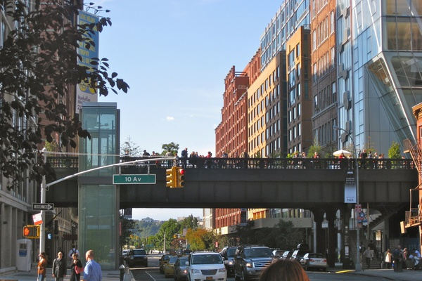 The High Line in Chelsea, photo courtesy of Trail Tramps